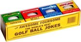 The awesome foursome trick golfballen