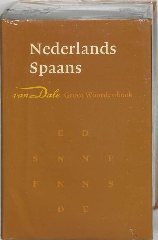 Van Dale groot woordenboek / Nederlands-Spaans - Onbekend |