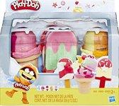 Play-Doh Ijsjes Vriezer - Klei Speelset