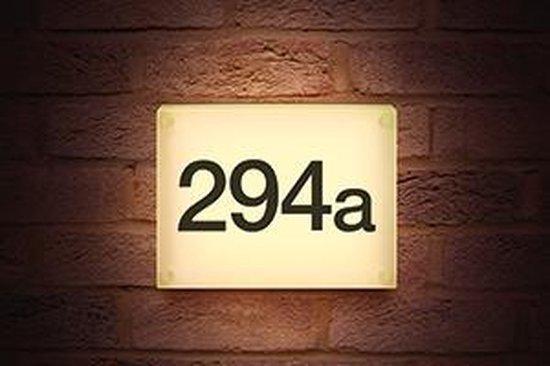 Integral Huisnummer Verlichting