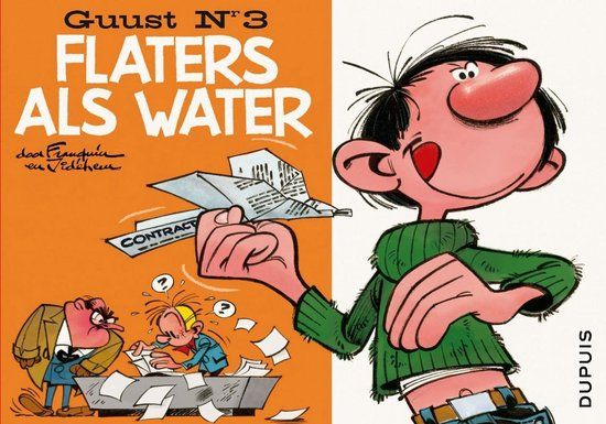 Guust Flater collector's item: 003 Flaters als water