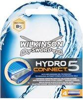 Wilkinson Sword Hydro 5 Connect Scheermesjes - 4 Stuks