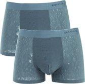 2 pack - Microfiber - Kerstmis - Ultra naadloos ondergoed / boxershorts - Danube - Ice Silk