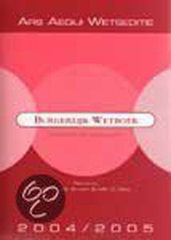 2004/2005 Burgerlijk Wetboek - R.J.Q. Klomp | Fthsonline.com