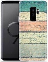 Galaxy S9+ Hoesje Steigerhout
