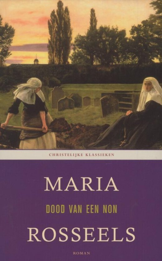Boek cover DOOD VAN EEN NON van Maria Rosseels (Onbekend)