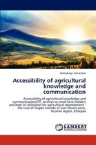 Accessibility of Agricultural Knowledge and Communication
