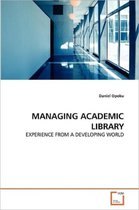 Managing Academic Library