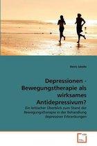 Boek cover Depressionen - Bewegungstherapie ALS Wirksames Antidepressivum? van Denis Jakobs