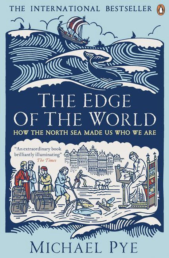 Boek cover The Edge of the World van Michael Pye (Onbekend)