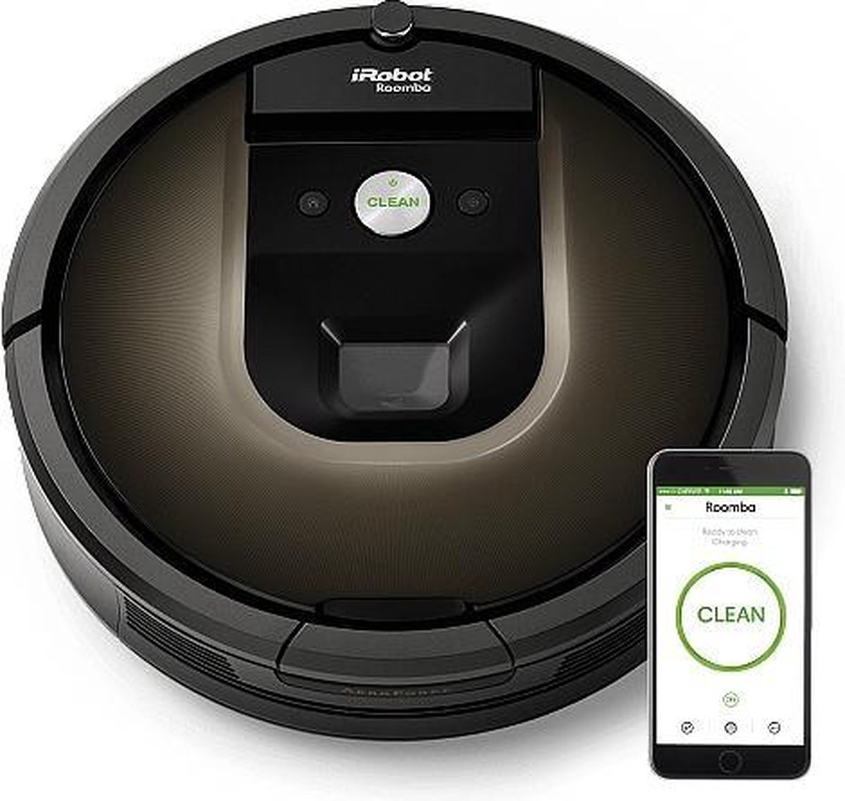iRobot Roomba 980 - Robotstofzuiger - iRobot