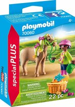 PLAYMOBIL Meisje met pony - 70060