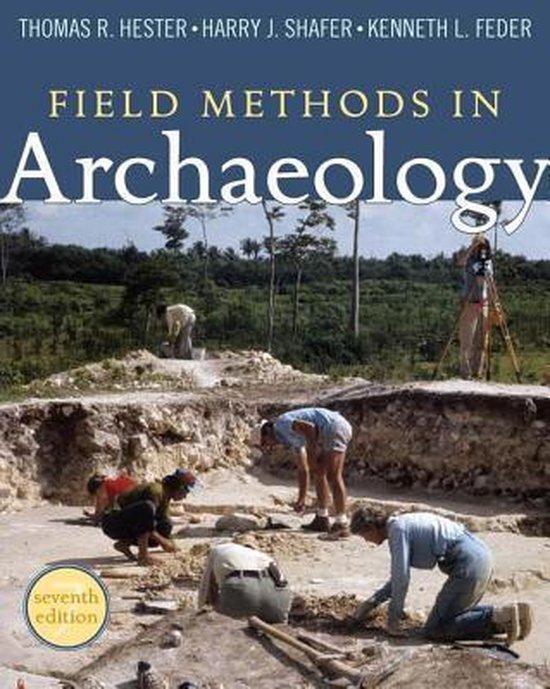 Boek cover Field Methods in Archaeology van Thomas Hester (Paperback)