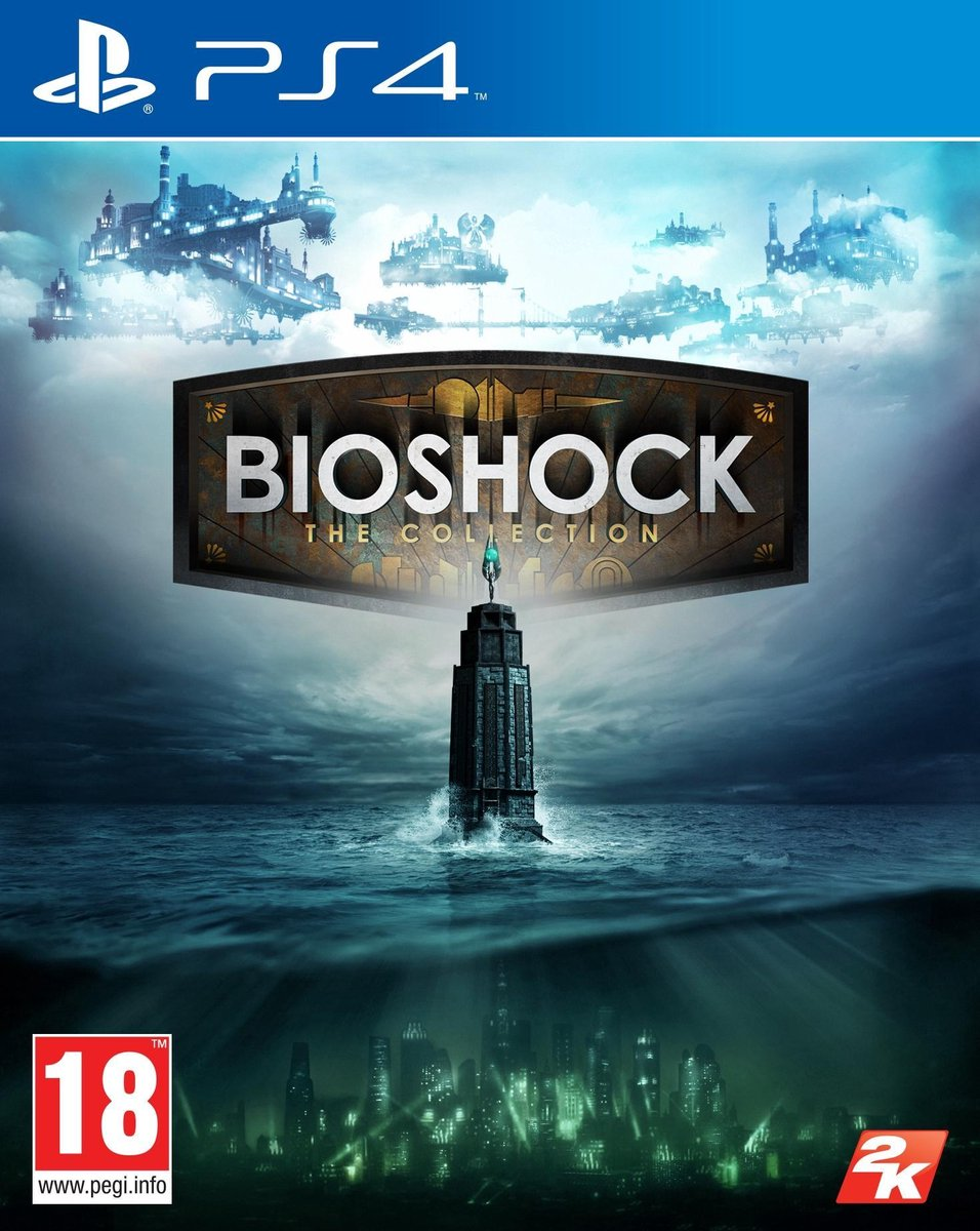 BioShock: The Collection -  PS4 - 2K