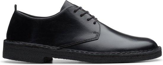 Clarks - Herenschoenen - Desert London - G - black polished - maat 6,5