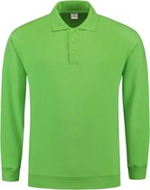 Tricorp Polosweater boord - Casual - 301005 - Limoengroen - maat S
