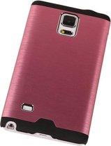 Wicked Narwal | Lichte Aluminium Hardcase voor Samsung Galaxy Note 4 Roze