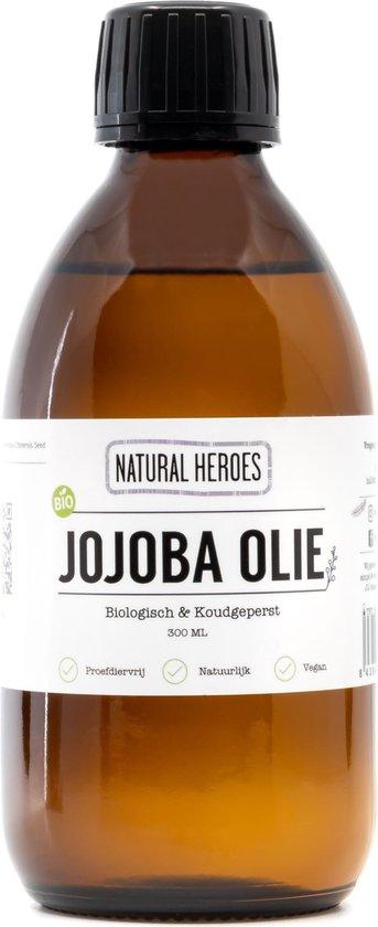 Natural Heroes Biologisch Jojoba Olie Koudgeperst - 100ml