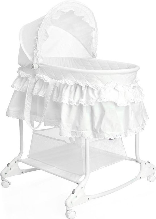 Product: Little World Wieg Met Schommelfunctie Wit, van het merk Little World