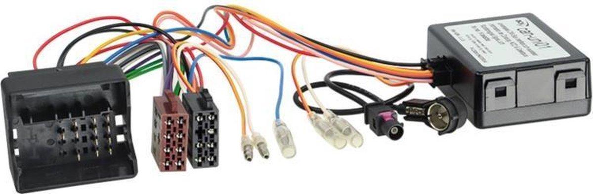 CAN-Bus Kit Mercedes Quadlock > ISO / Antenne > ISO