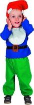 Dwerg & Kabouter Kostuum | Sprookjesbos Kabouter (Baby) Kostuum | Maat 80 | Carnaval kostuum | Verkleedkleding