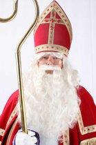 Sinterklaas Pruik en Baard - Haarstel - Wit