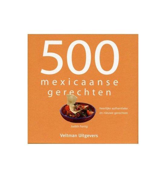 500 Mexicaanse gerechten - Vitataal |