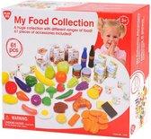 Playgo Mijn voedsel collectie set 61-delig 3124