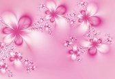 Fotobehang Flowers Abstract Nature | XXXL - 416cm x 254cm | 130g/m2 Vlies