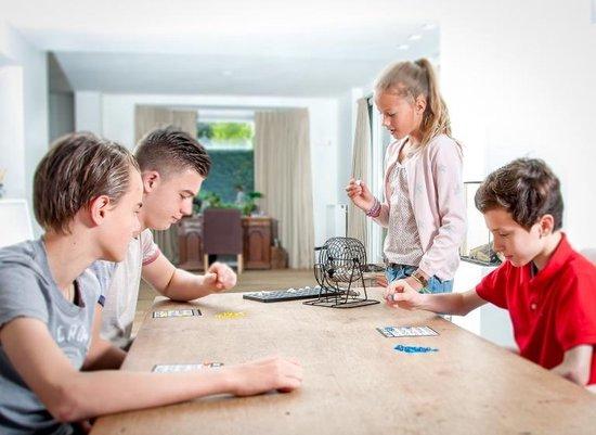 Thumbnail van een extra afbeelding van het spel stalen bingomolen set 13,5 cm zwart