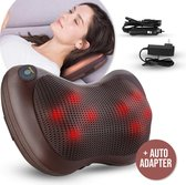 Gologi - Elektrisch Massage Kussen - Massage Kussen - Nek en rug - Shiatsu - Massage apparaten voor het lichaam