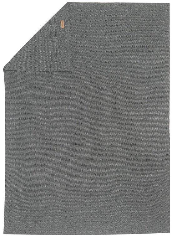 Noppies Wiegdeken - Grijs - 75x100 cm