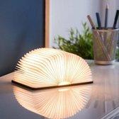mm – Boek Lamp Book– 3 lichtstanden – Echt papier Light– Oplaadbare lamp