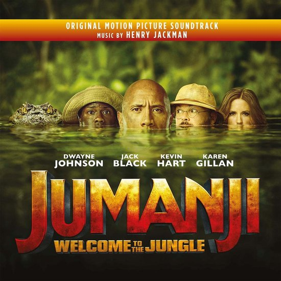 Jumanji: Welcome To The Jungle (Coloured Vinyl)