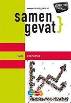 Boek cover Samengevat vwo Economie 7e druk van J.P.M. Blaas (Paperback)