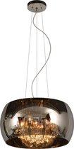 Lucide - lucide pearl - hanglamp - ø 40 cm - g9 - chroom