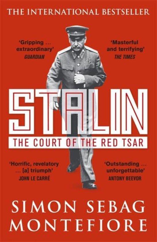 Boek cover Stalin: the Court of the Red Tsar van Simon Sebag Montefiore (Onbekend)
