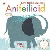 Llyfr Teimlo a Sgleinio: Anifeiliaid / Shiny Touch