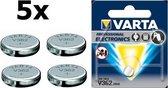 5 Stuks - Varta V362 21mAh 1.55V knoopcel batterij
