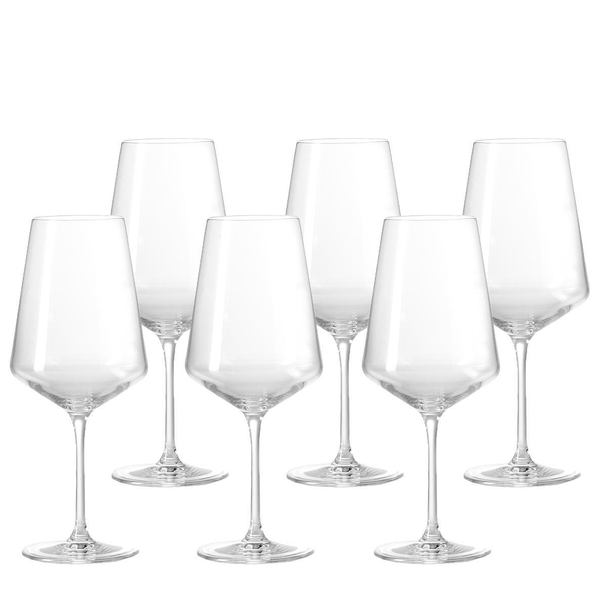 Leonardo Puccini witte wijnglazen - 560 ml - hoogte 24 cm - 6 stuks