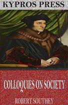 Boek cover Colloquies on Society van Robert Southey