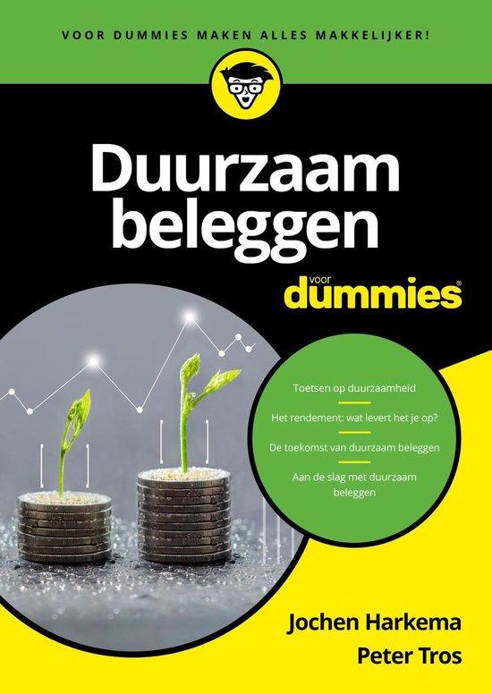 Duurzaam beleggen voor Dummies - Jochen Harkema |