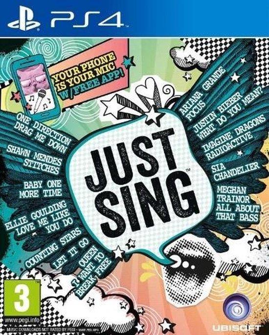 Bol Com Ubisoft Just Sing Ps4 Video Game Playstation 4 Basis Games