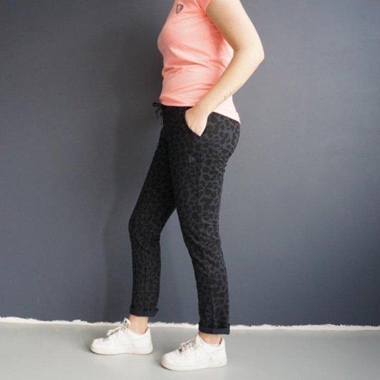 Donnay Joggingbroek - Panter print - Joggingbroek - Dames - Maat S - Donkerblauw