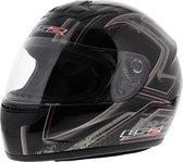 LS2 FF350 Helm Upside glans zwart