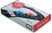 Waytoplay Ringweg 12-delig - Flexibele autobaan - Mooie duurzame racebaan