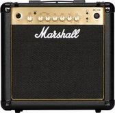 Marshall MG15GR - Gitaarversterker - Combo gitaarversterker - Met reverb effect - Zwart