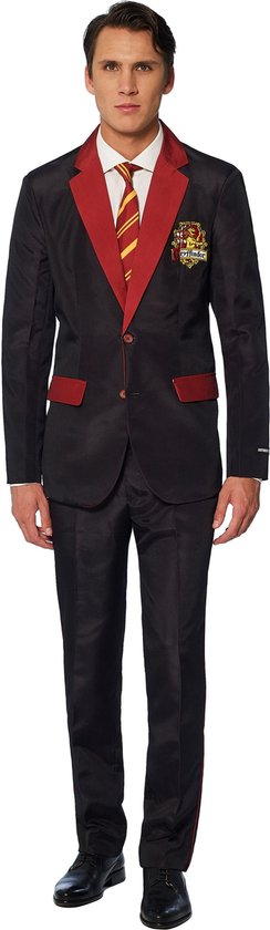 Suitmeister Gryffindor™ - Mannen Kostuum - Gekleurd - Carnaval - Maat S