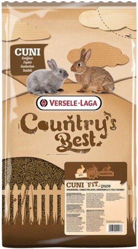 Versele-laga country's best cuni fit pure - konijnenkorrel