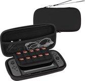 Hoesje Geschikt voor Nintendo Switch Lite Case Hoes Hard Cover – Zwart